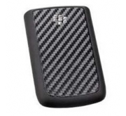 BlackBerry 9700 Bold Accudeksel Carbon Zwart