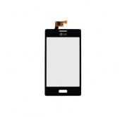 LG Optimus L5 Touchscreen / Digitizer combinatie Zwart