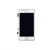 Samsung Galaxy S2 i9100 Compleet Touchscreen met LCD Display assembly Wit