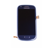 Samsung Galaxy S3 Mini i8190 Compleet Touchscreen met LCD Display assembly Blauw