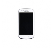 Samsung Galaxy S3 Mini i8190 Compleet Touchscreen met LCD Display assembly Wit