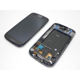 Samsung Galaxy S3 I9300 Compleet Touchscreen met LCD Display assembly Zwart