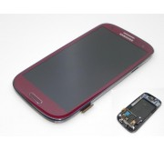 Samsung Galaxy S3 i9300 Compleet Touchscreen met LCD Display assembly Rood