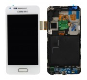 Samsung Galaxy S Advance i9070 Frontcover en Display Unit Wit