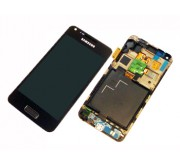 Samsung Galaxy S Advance i9070 Frontcover en Display Unit Zwart
