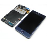 Samsung Galaxy S2 Plus i9105 Compleet Touchscreen met LCD Display assembly Blauw