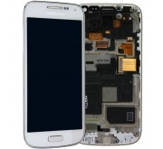 Samsung Galaxy S4 Mini i9195 Compleet Touchscreen met LCD Display assembly Wit