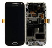 Samsung Galaxy S4 Mini i9195 Compleet Touchscreen met LCD Display assembly Zwart
