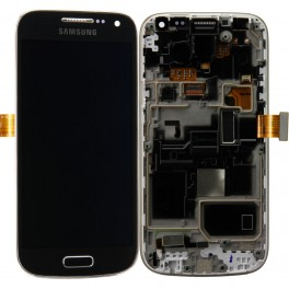 Samsung Galaxy S4 Mini i9195 Compleet Touchscreen met LCD Display assembly Zwart