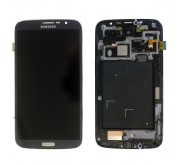 Samsung Galaxy Mega 6.3 i9205 / i9200 Compleete Frontcover + Touchscreen + LCD Zwart