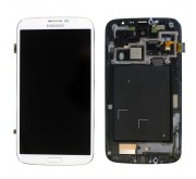 Samsung Galaxy Mega 6.3 i9205 / i9200 Compleete Frontcover + Touchscreen + LCD Wit
