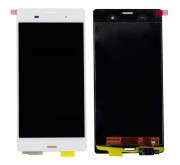 Sony Xperia Z3 Compleet Touchscreen met LCD Display assembly Wit