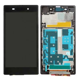 Sony Xperia Z1 Compleet Touchscreen met LCD Display assembly Zwart