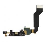 Apple iPhone 4S Doc Connector Zwart met Flex Kabel